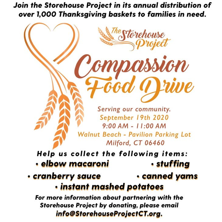 Collecte alimentaire de compassion