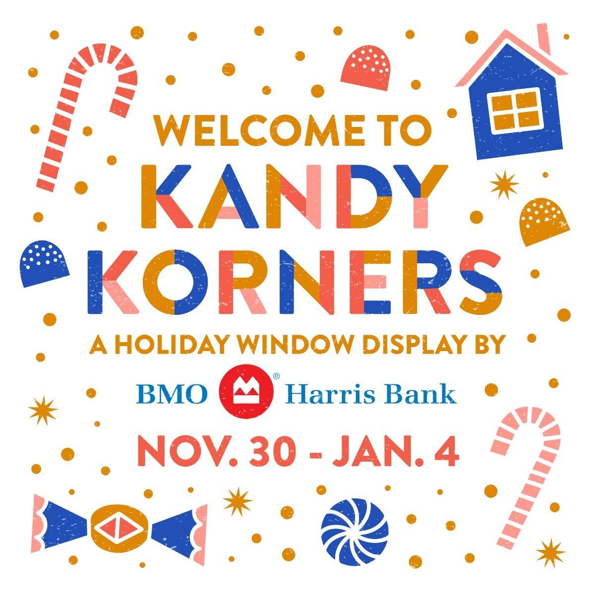 Bmo Harris Bank Christmas Display 2021 Nov 30 Bmo Harris Bank S 2020 Holiday Display Welcome To Kandy Korners Wauwatosa Wi Patch