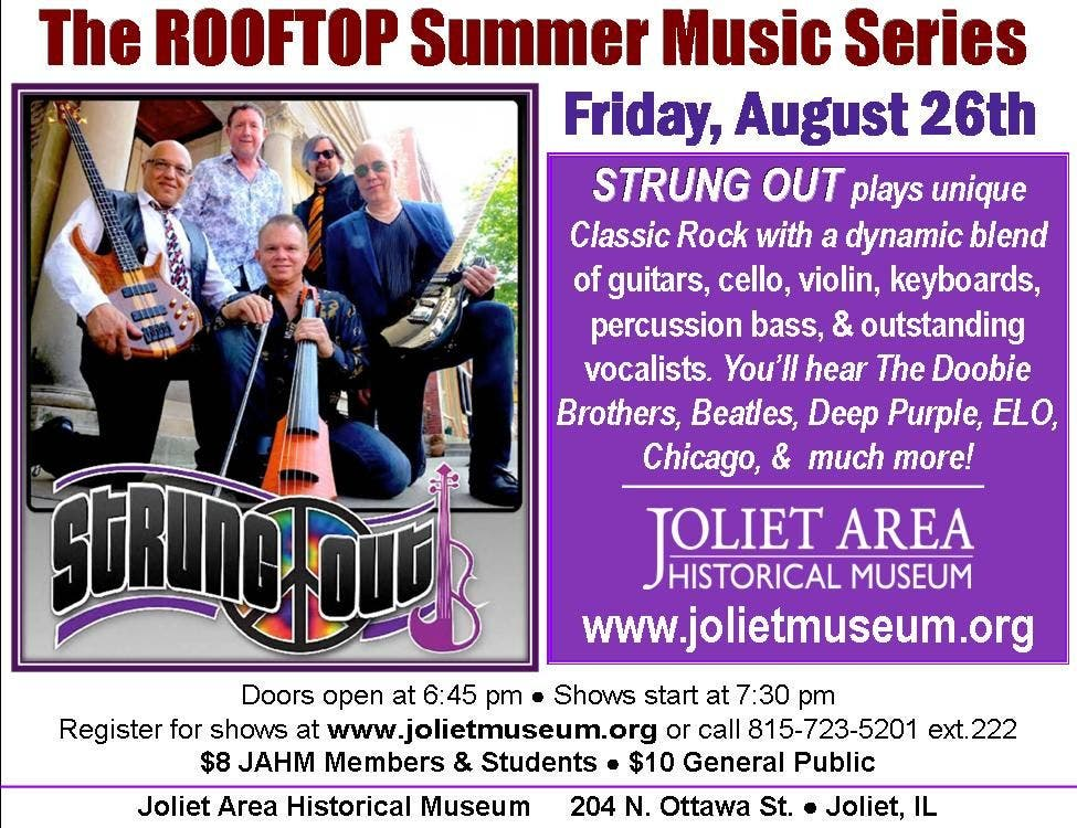 Strung Out band Live on the Joliet Museum Rooftop   New Lenox, IL Patch
