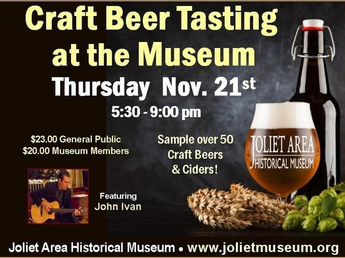 Terrific Craft Beer Tasting Event At Museum