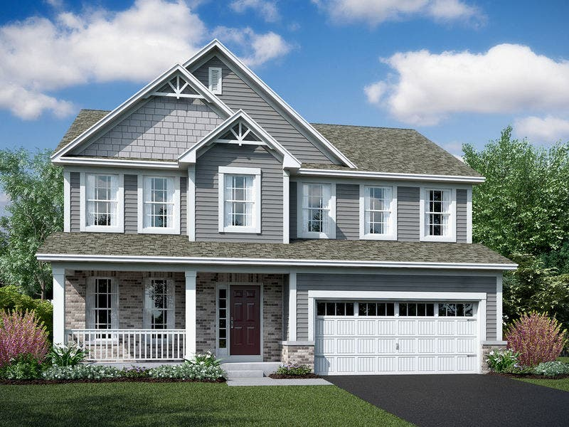 M/I Homes Unveils New Decorated Model At Hunteru0027s Crossing In Channahon, ...
