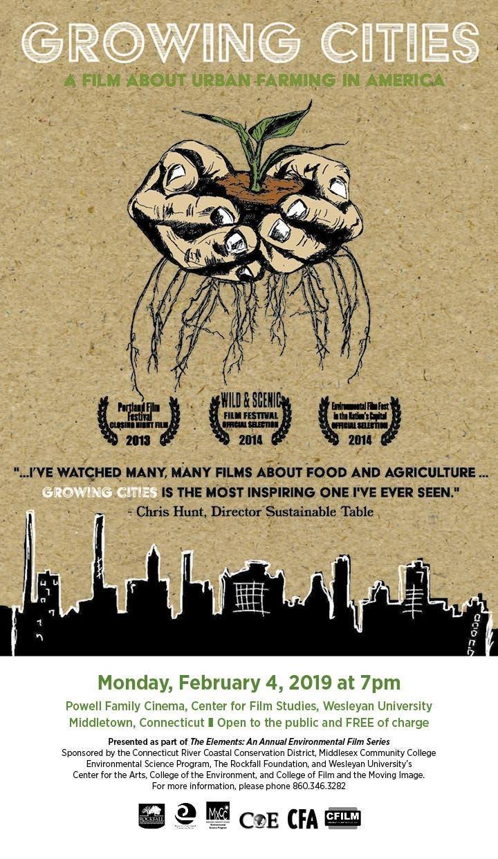 Environmental Film Series Screening: Growing Cities