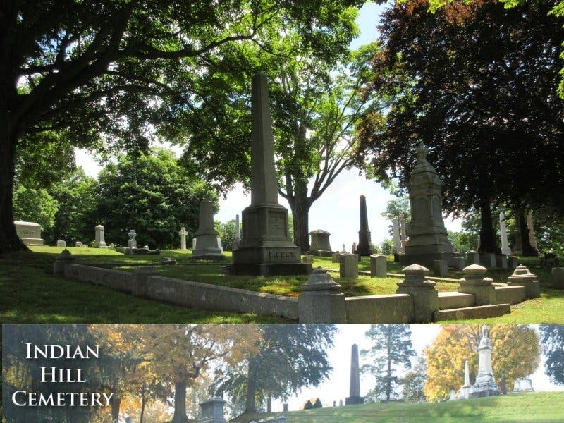 A Walk At Indian Hill Cemetery