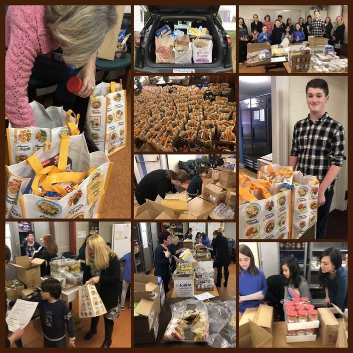 Community Junior Woman S Club Help Milton Community Food