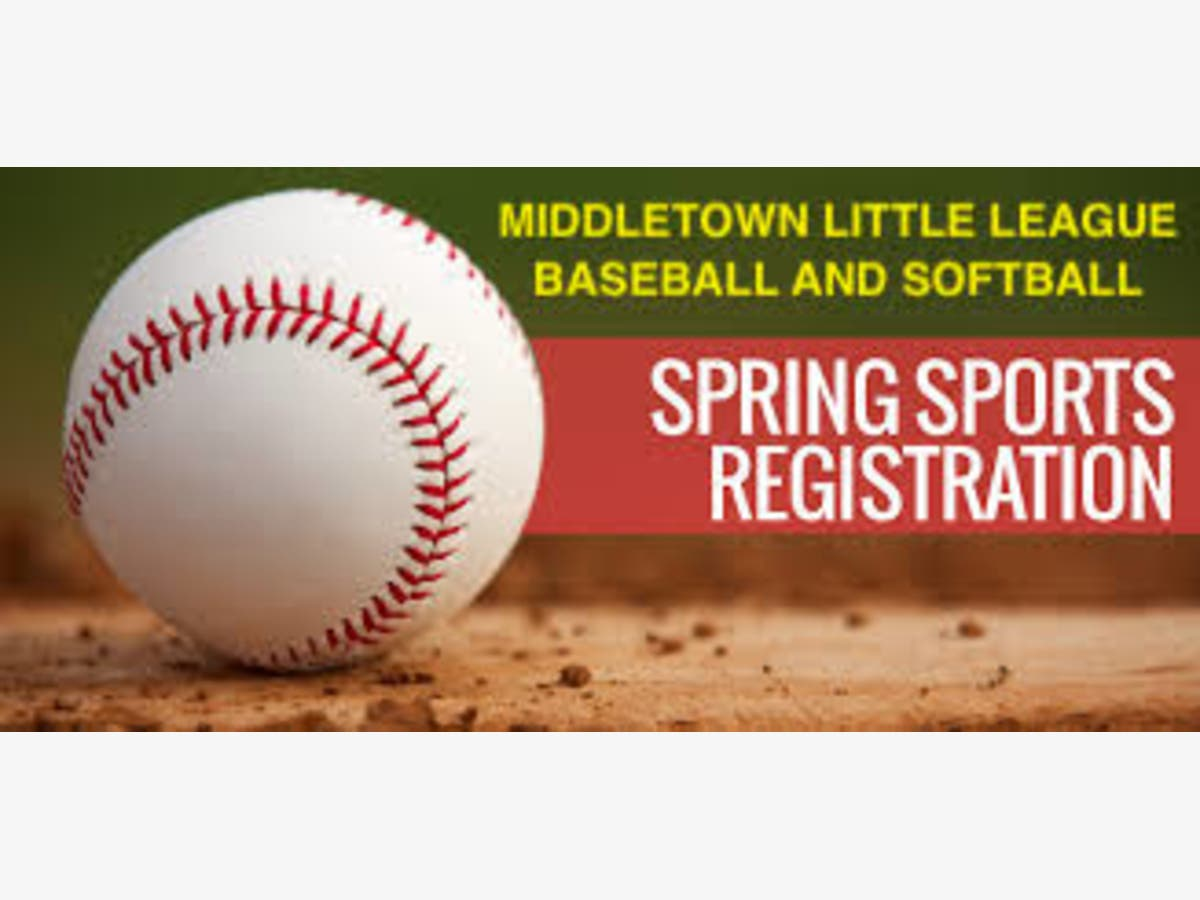 Spring 2020 Middletown Little League Baseball And Softball Middletown Nj Patch