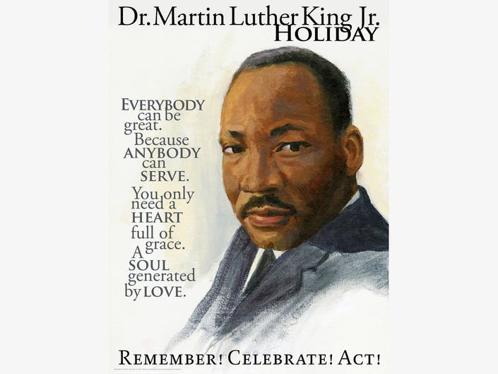 Honoring Martin Luther King, Jan. 21st, A Day of Service ...