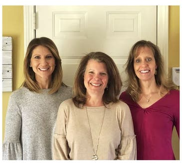 Katie Henebry, Kathleen Cahill and Laurie Nealon