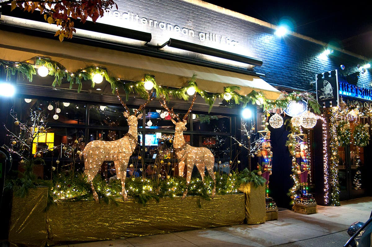 Birmingham Christmas Lights.Holiday Lights In Beautiful Birmingham Birmingham Mi Patch