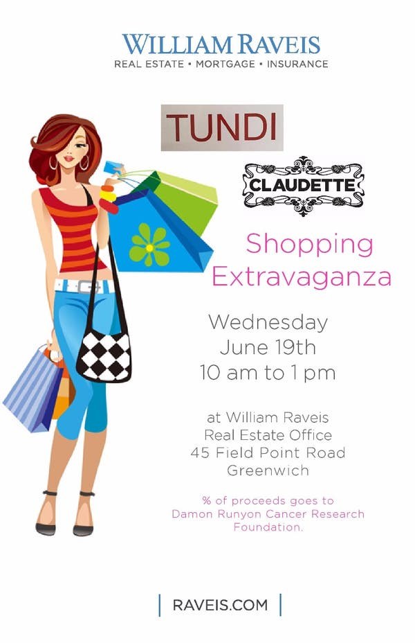 664ea27b21ab Jun 19 | Shopping Extravaganza For Charity | Greenwich, CT Patch