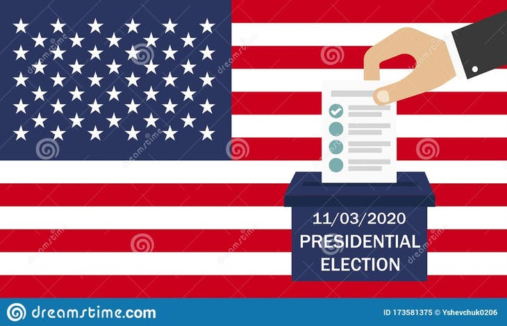 Election Day 2020. Vote November 3rd