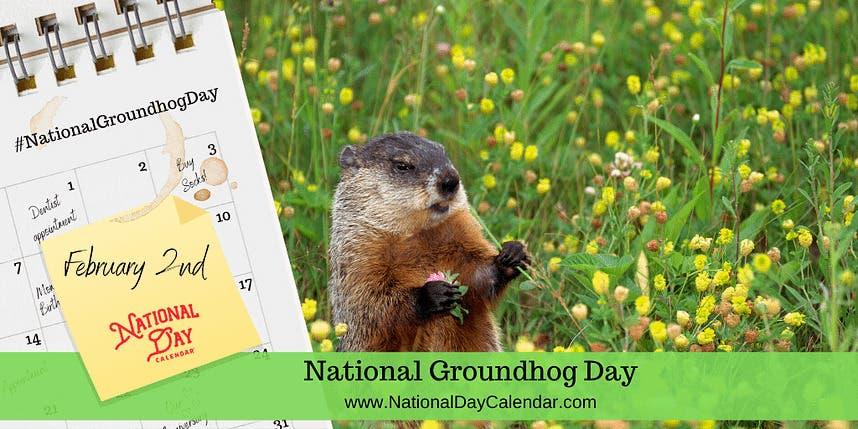 Feb 2 | HAPPY Groundhog Day-FEBRUARY 2, 2021 | Middletown ...