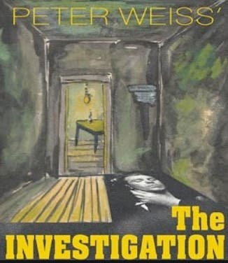 """Temple Beth David of the South Shore Presents """"The Investigation"""""""