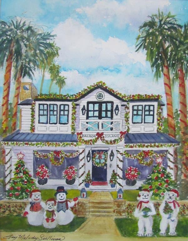 Dec 8 27th Annual Balboa Island Holiday Home Walking Tour
