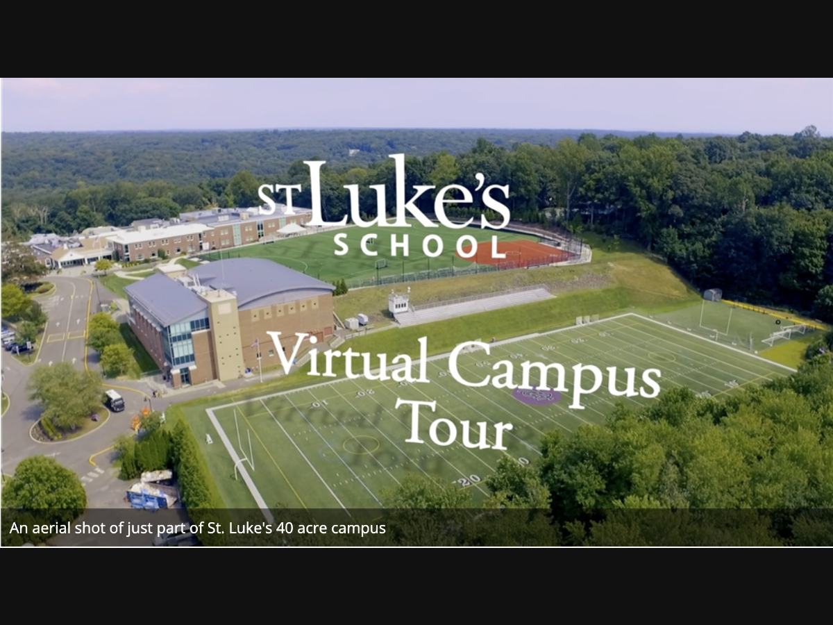 St. Luke's Students Produce Virtual Campus Tour Video