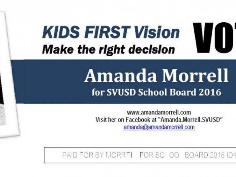 Svusd Calendar.Amanda Morrell Announces Her Candidacy For Election To The Svusd