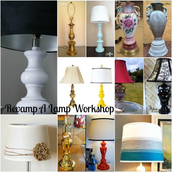 Revamp a Lamp Workshop