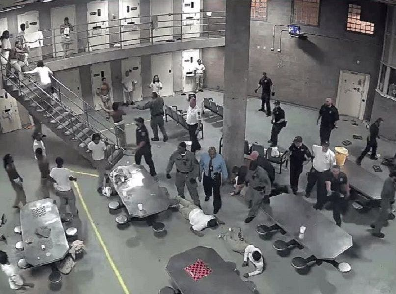 Cook County Jail Brawl: Sheriff's Video Shows Fight That