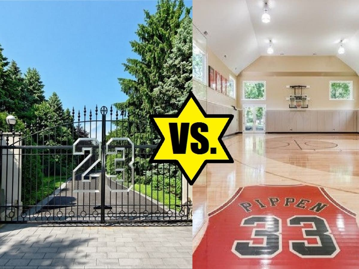90ca765cfef Celebrity Homeowner Death Match: Michael Jordan Vs. Scottie Pippen ...