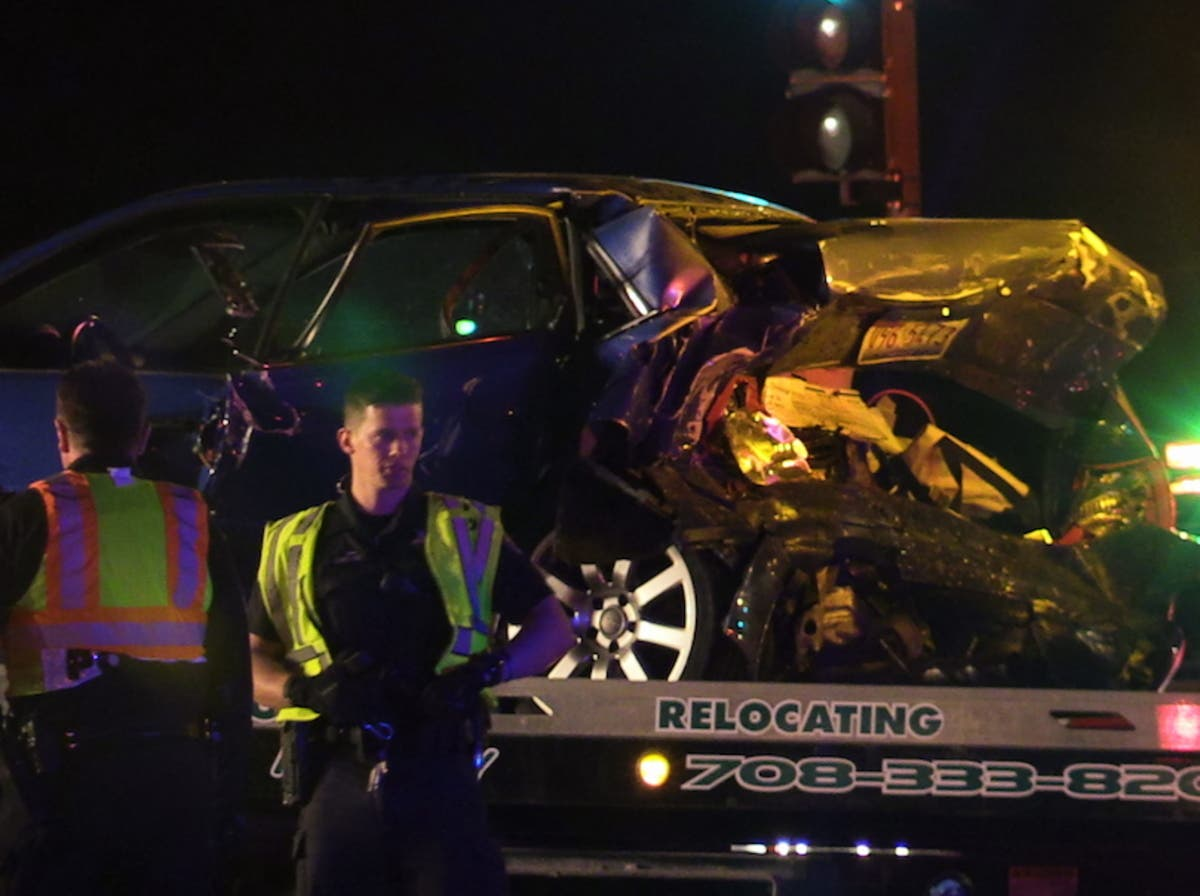 4 People Seriously Hurt In 2-Car Crash Near 183rd And LaGrange