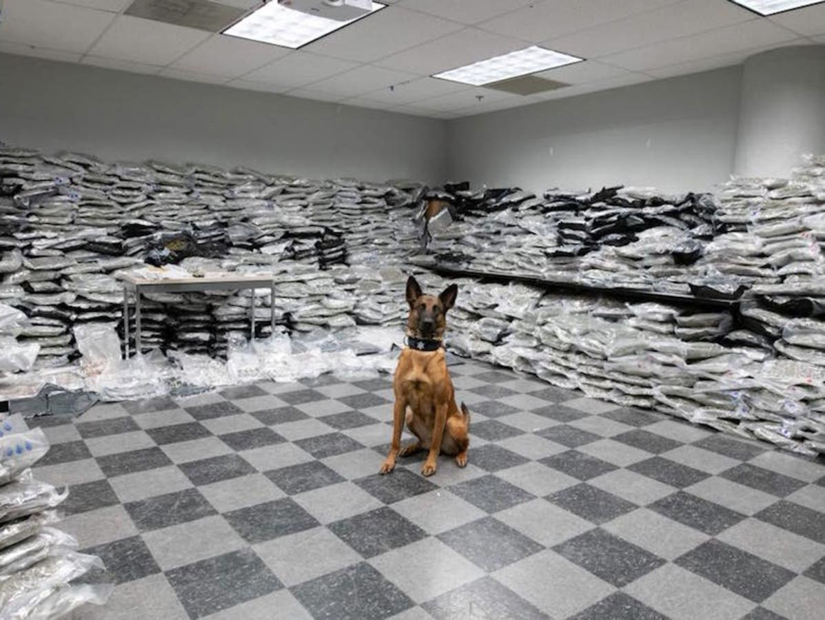 Pot Worth More Than $10M Seized During Midlothian Traffic