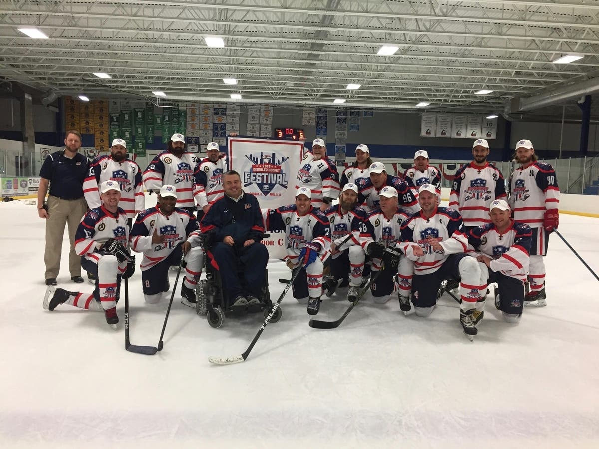 The Capital Beltway Warriors win big at Disabled Hockey