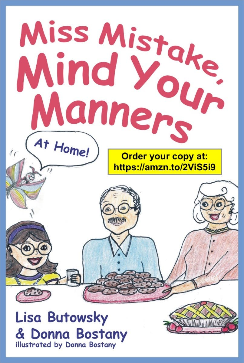 Mind Your Manners >> New Local Authors Sisters Miss Mistake Mind Your Manners