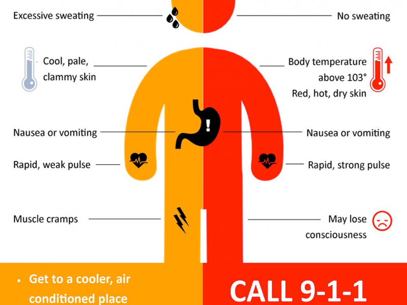 how to tell if you have heat stroke