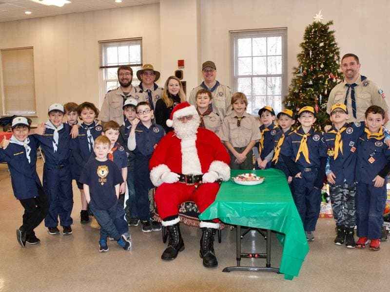 Vista-Lewisboro Cub Scouts Pack 101 Participate in Toys for Tots