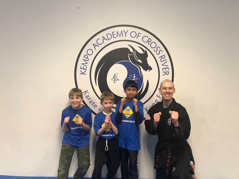 Vista-Lewisboro Pack 101 Cub Scouts Get a Lesson in Self Defense