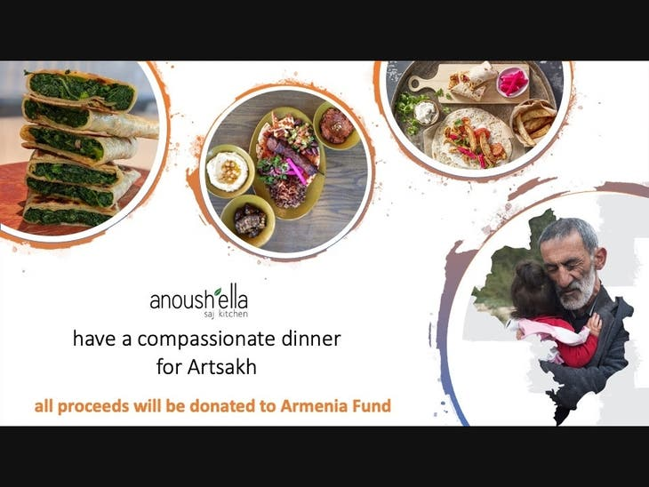 Anoush'ella Kitchen Charity Pop Up this Weekend in Watertown