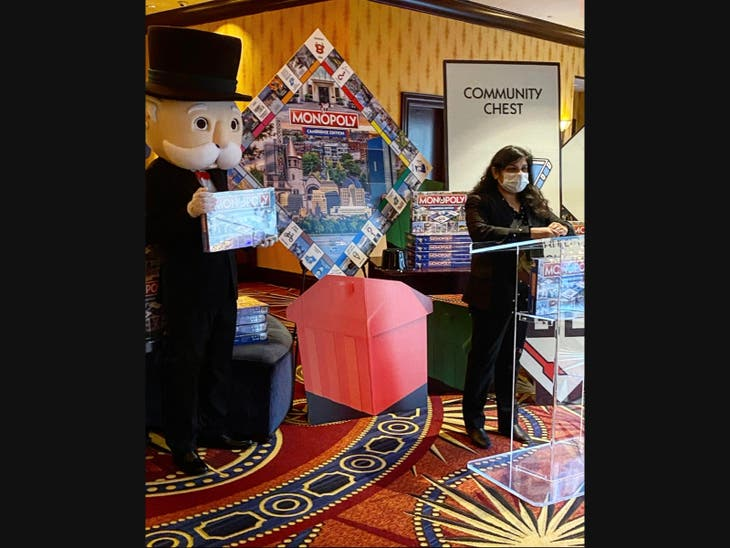 Cambridge Monopoly Hits Stores for Holidays & Pending Winter