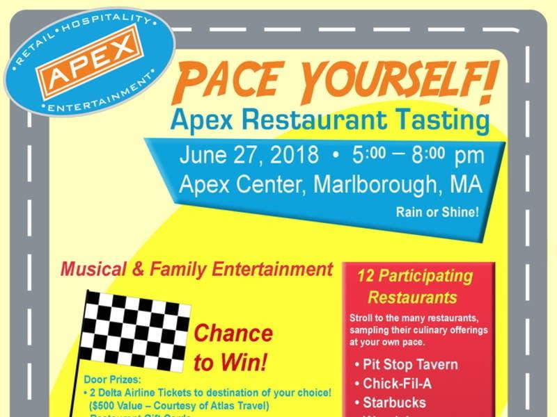 Marlborough S Apex Center Gearing Up For Restaurant Tasting
