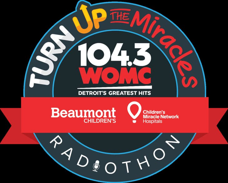 104.3 WOMC Turn Up the Miracles Radiothon