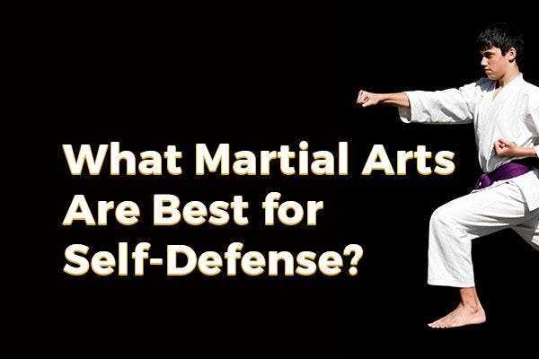 What Martial Arts Are Best For Self Defense Joliet Il Patch