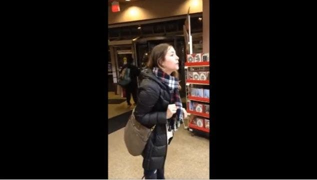 Angry Woman At Michaels Store Cries Discrimination For Being White