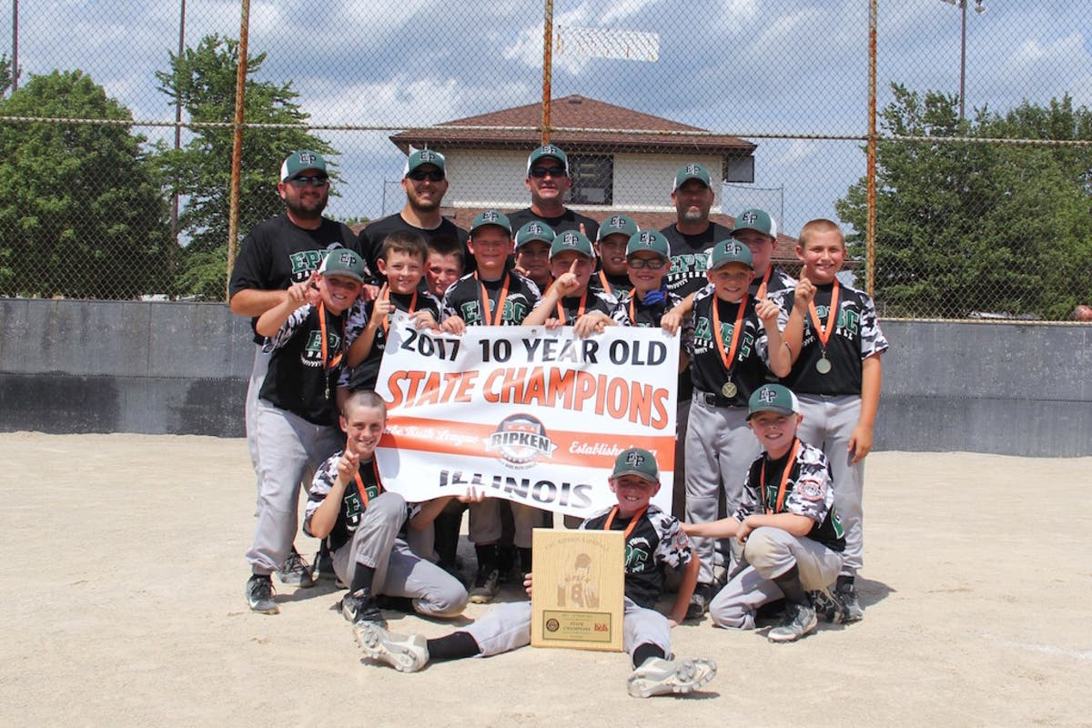 Hail the State Champs! Evergreen Park Boys Club's 10U Team Is