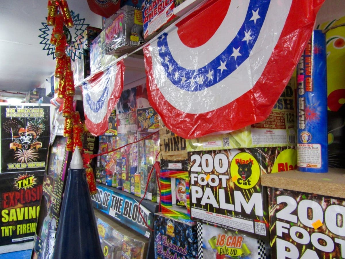 Fireworks On The Down-Low: Indiana Retailers Do Booming