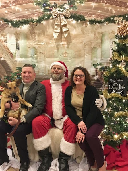 Petsmart Christmas Hours.Petsmart Brightens Rescued Romanian Dog S First Christmas In