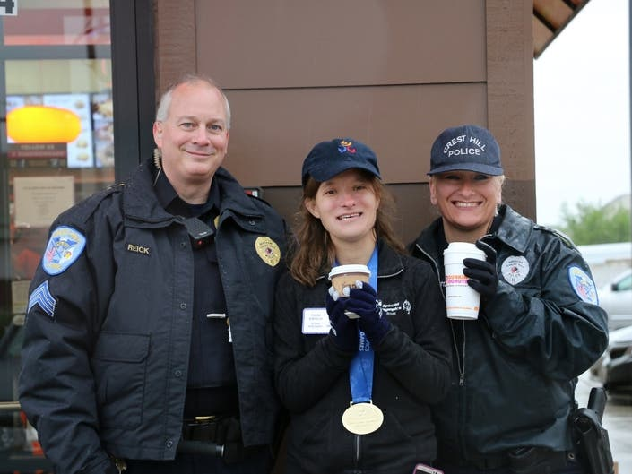 Homewood Police Stake Out Dunkin Donut Roof For Special
