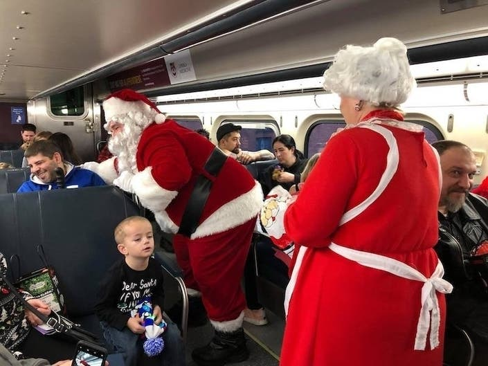 Win A Seat On The Frozen Express
