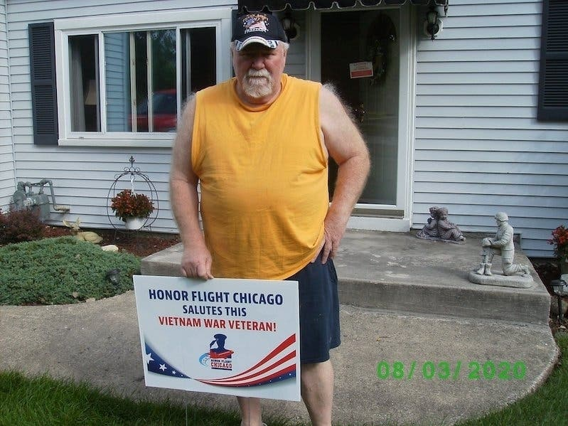 Palos Hills Veteran Who Survived COVID-19 Chosen For Honor Flight