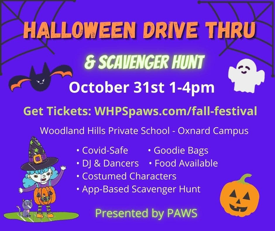 Halloween Harvest Festival 2020 Woodland Hills, Ca Oct 31 | Halloween Drive Thru & Scavenger Hunt! | Malibu, CA Patch