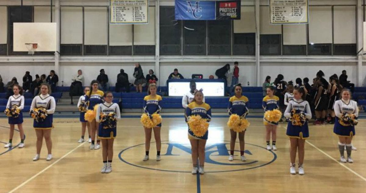 Cheer Squads at Our Lady of Mount Carmel School | Essex, MD Patch