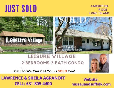 Leisure Village Condo Ridge Long Island SOLD!
