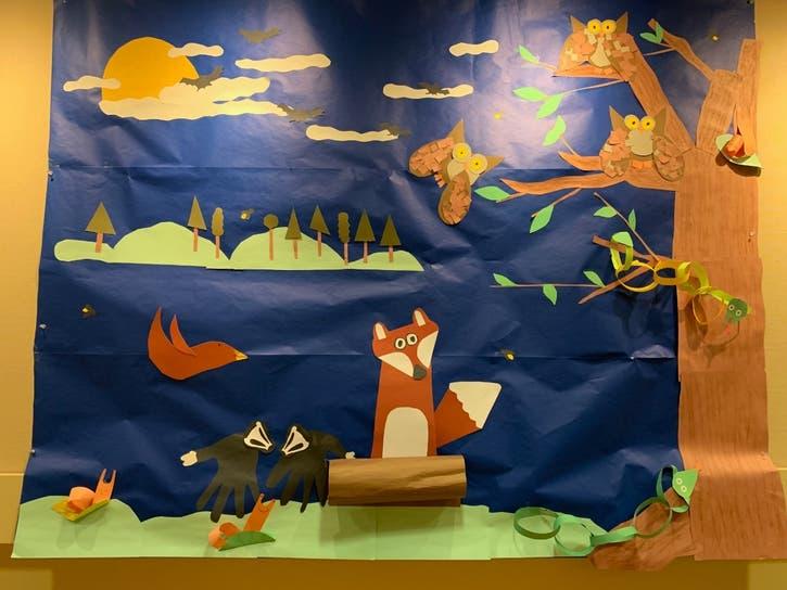 Eden School Mural