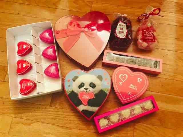 I Love You Thea Mini Heart Tin Gift For I Heart Thea With Chocolates or Mints