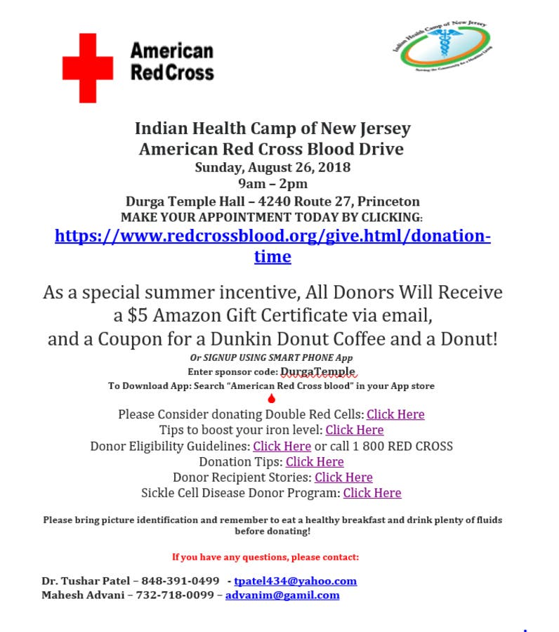 IHCNJ will hold health fair in SB on August 26, 2018 | South