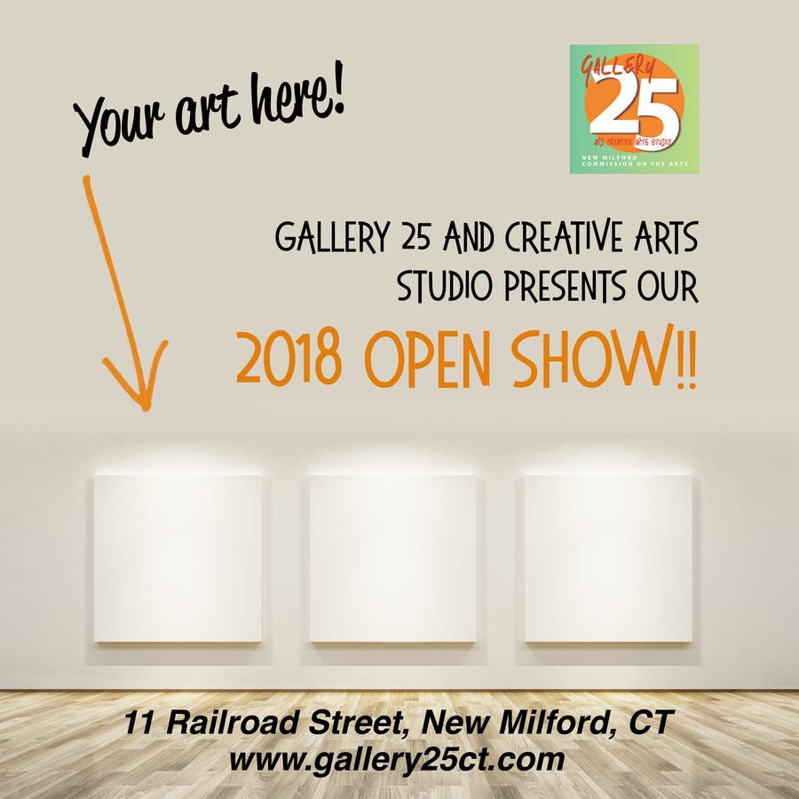 Gallery 25 Announces Call For Artists for Open Show