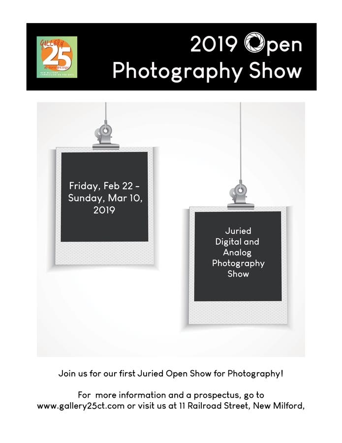 Gallery 25 Announces Call For Photographers for Open Show
