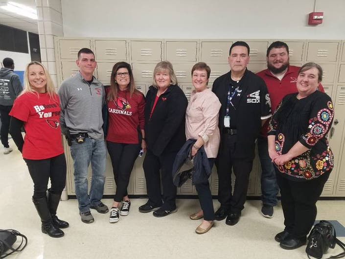 D218 Board Honors Staff Members Who Saved Students Lives